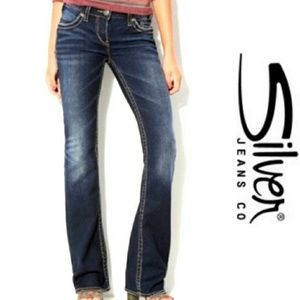 Silver Aiko Boot Cut Jeans 27